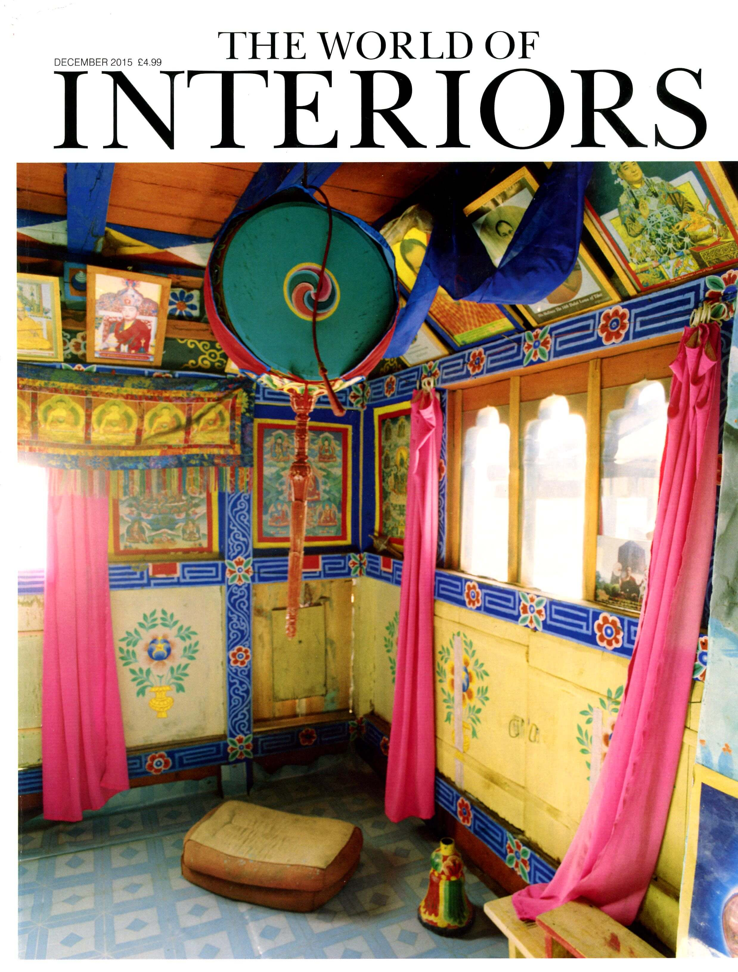 The World of Interiors December 2015